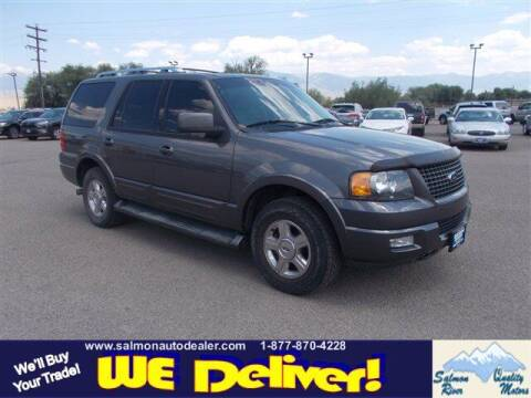 2005 Ford Expedition for sale at QUALITY MOTORS in Salmon ID