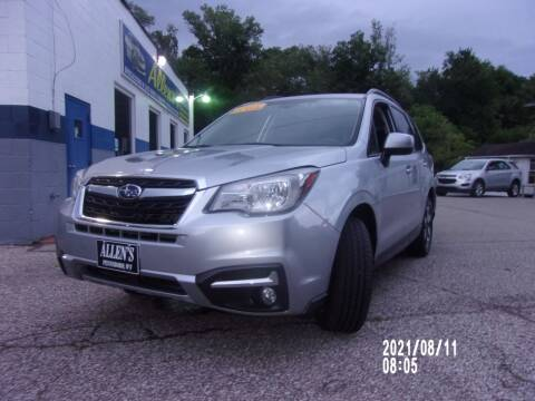 2018 Subaru Forester for sale at Allen's Pre-Owned Autos in Pennsboro WV