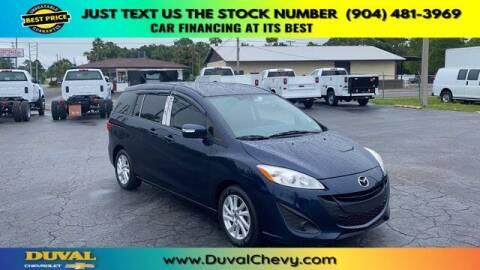 2015 Mazda MAZDA5 for sale at Duval Chevrolet in Starke FL