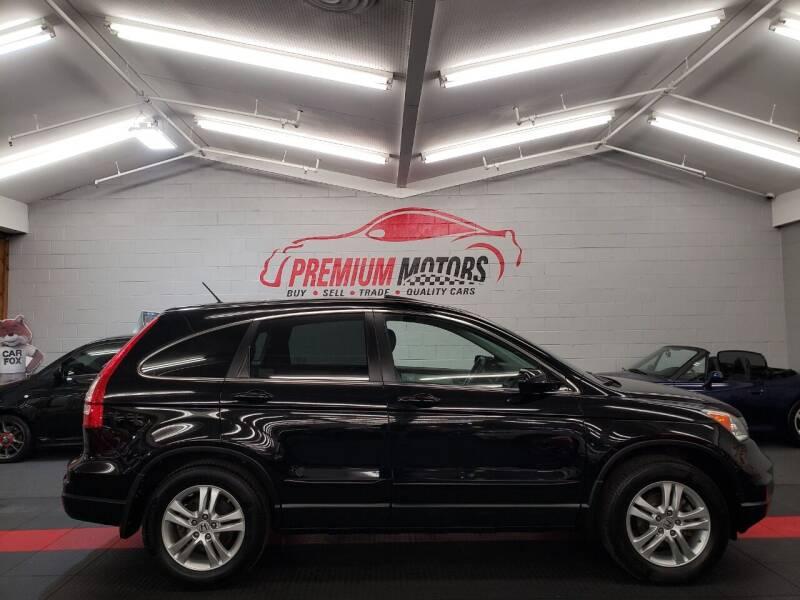 2010 Honda CR-V for sale at Premium Motors in Villa Park IL