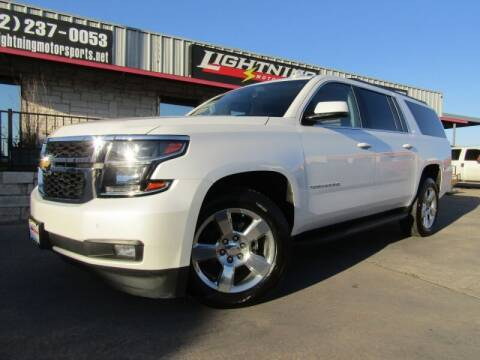 2017 Chevrolet Suburban for sale at Lightning Motorsports in Grand Prairie TX
