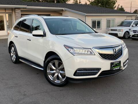 2014 Acura MDX for sale at Lux Motors in Tacoma WA
