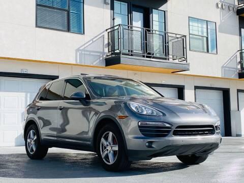 2011 Porsche Cayenne for sale at Avanesyan Motors in Orem UT