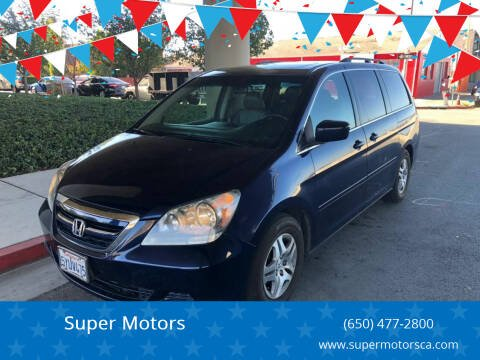 2007 Honda Odyssey for sale at Super Motors in San Mateo CA