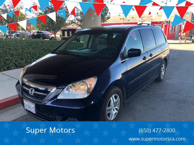 2007 Honda Odyssey for sale at Super Motors in San Mateo CA