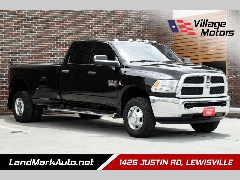 2014 RAM Ram Pickup 3500 for sale at Village Motors in Lewisville TX