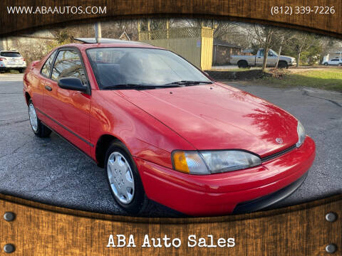 1995 Toyota Paseo for sale at ABA Auto Sales in Bloomington IN