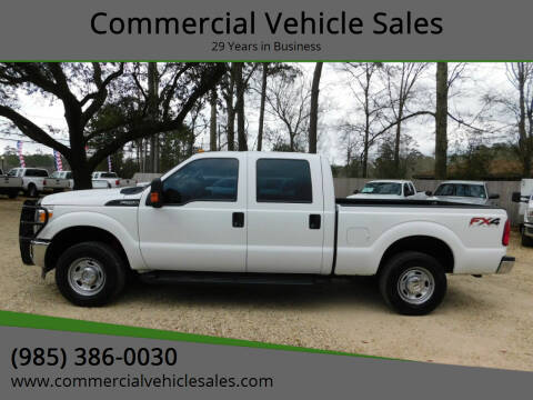 2015 Ford F-250 Super Duty for sale at Commercial Vehicle Sales in Ponchatoula LA