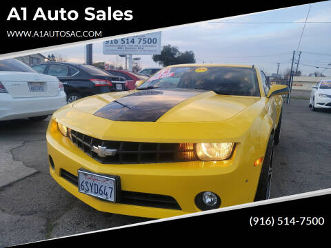 2012 Chevrolet Camaro for sale at A1 Auto Sales in Sacramento CA