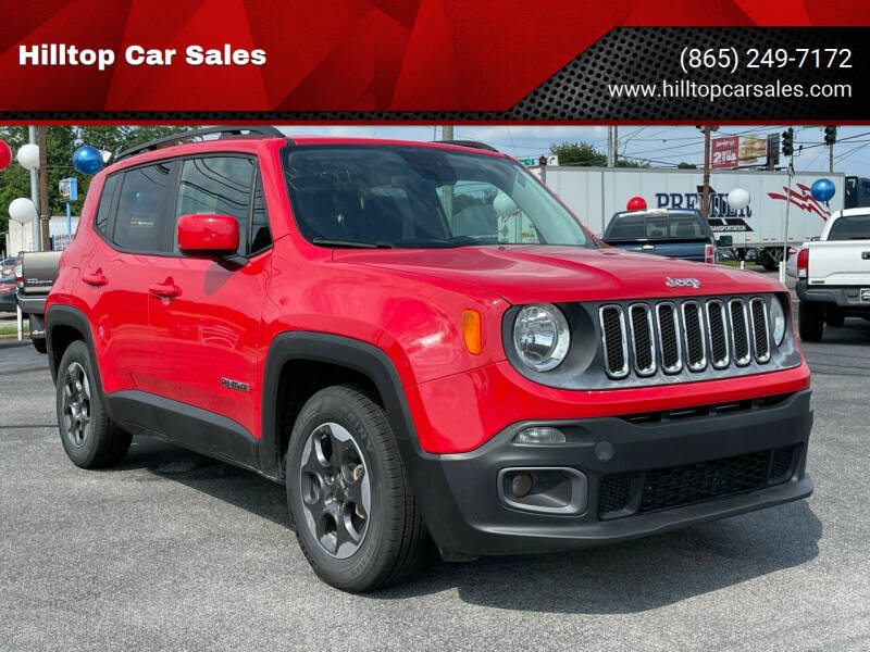 2015 Jeep Renegade for sale at Hilltop Car Sales in Knoxville TN