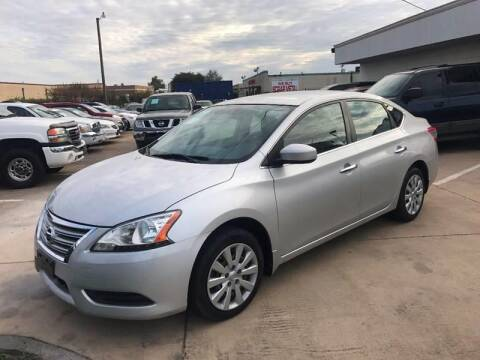 2013 Nissan Sentra for sale at SP Enterprise Autos in Garland TX