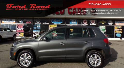 2016 Volkswagen Tiguan for sale at Ford Road Motor Sales in Dearborn MI