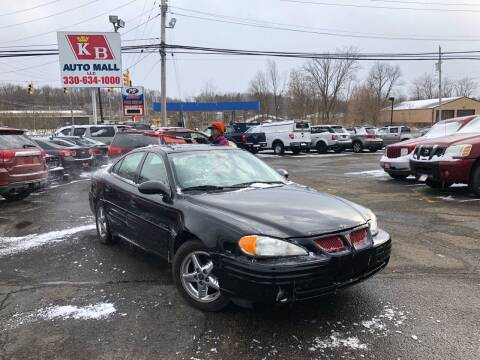 2002 Pontiac Grand Am for sale at KB Auto Mall LLC in Akron OH