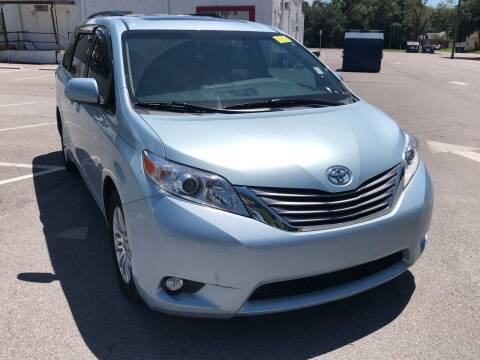 2015 Toyota Sienna for sale at Consumer Auto Credit in Tampa FL
