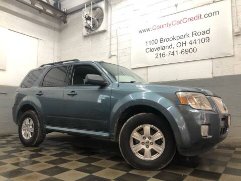 2010 Mercury Mariner for sale at County Car Credit in Cleveland OH