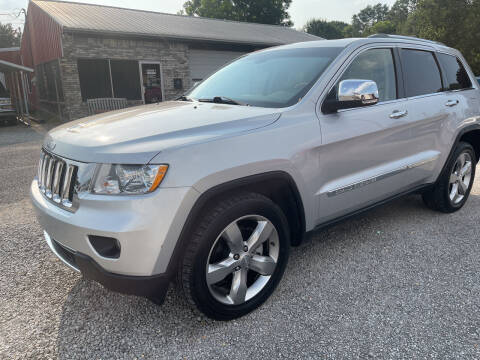 2011 Jeep Grand Cherokee for sale at VAUGHN'S USED CARS in Guin AL