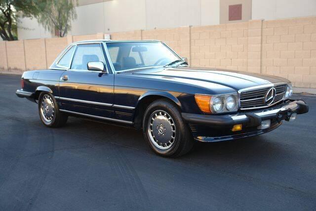 1987 Mercedes-Benz 560-Class for sale at Arizona Classic Car Sales in Phoenix AZ