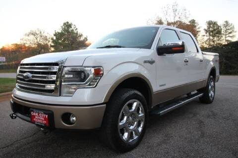 2013 Ford F-150 for sale at Oak City Motors in Garner NC