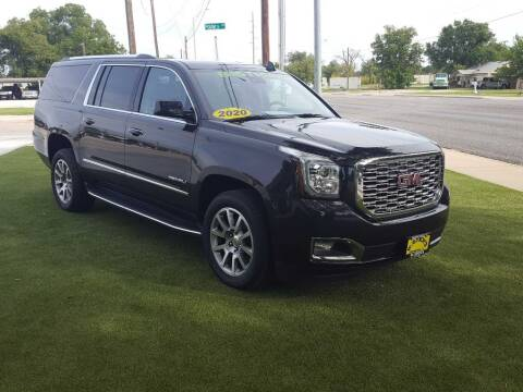 2020 GMC Yukon XL for sale at Bostick's Auto & Truck Sales in Brownwood TX