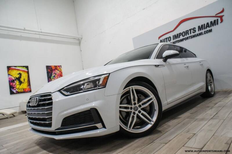 2018 Audi A5 Sportback for sale at AUTO IMPORTS MIAMI in Fort Lauderdale FL