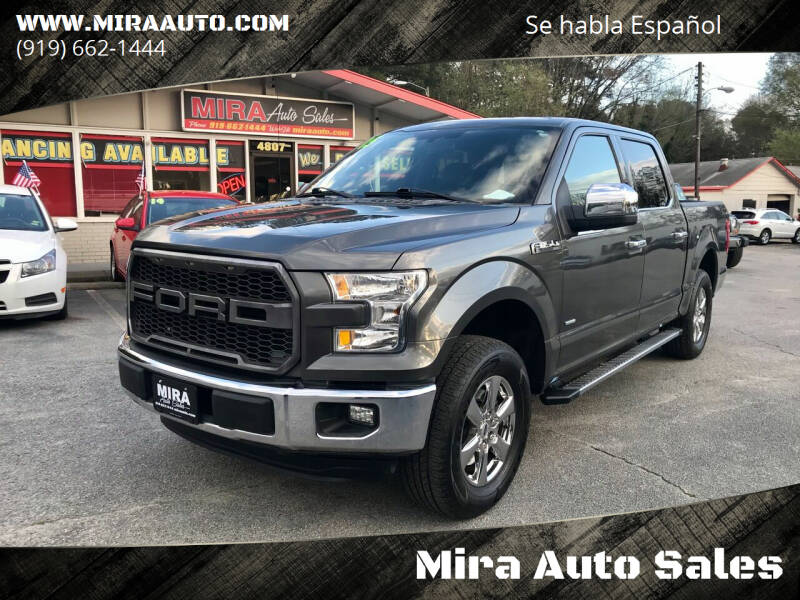 2015 Ford F-150 for sale at Mira Auto Sales in Raleigh NC