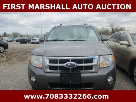 2011 Ford Escape for sale at First Marshall Auto Auction in Harvey IL