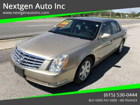 2006 Cadillac DTS for sale at Nextgen Auto Inc in Smithville TN
