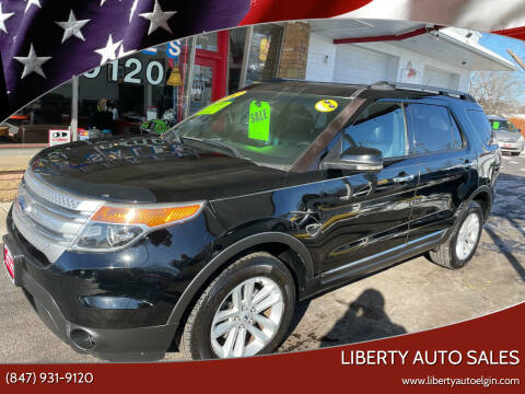 2012 Ford Explorer for sale at Liberty Auto Sales in Elgin IL