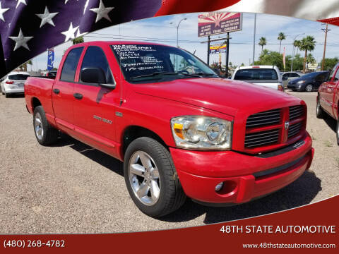2006 Dodge Ram Pickup 1500 for sale at 48TH STATE AUTOMOTIVE in Mesa AZ