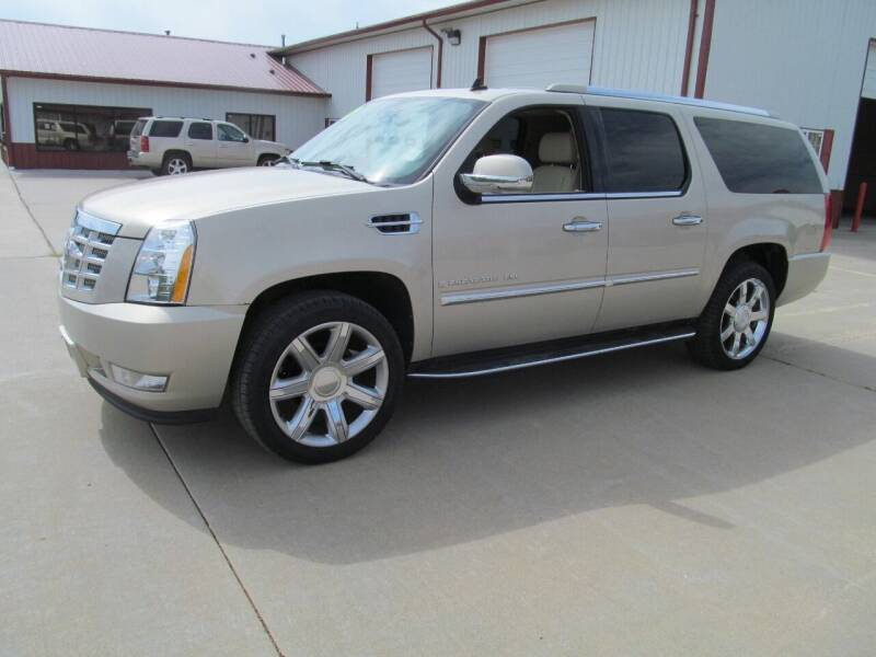 2008 Cadillac Escalade ESV for sale at New Horizons Auto Center in Council Bluffs IA