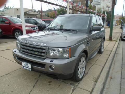 2009 Land Rover Range Rover Sport for sale at CAR CENTER INC in Chicago IL