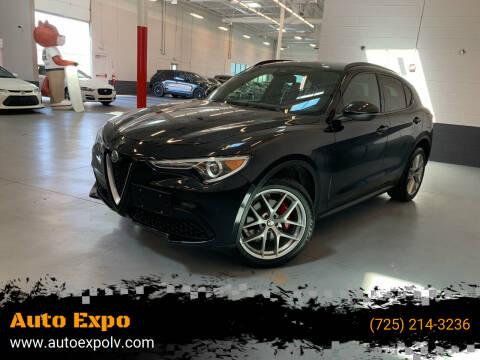 2018 Alfa Romeo Stelvio for sale at Auto Expo in Las Vegas NV