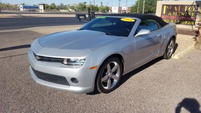 2014 Chevrolet Camaro for sale at 1ST AUTO & MARINE in Apache Junction AZ