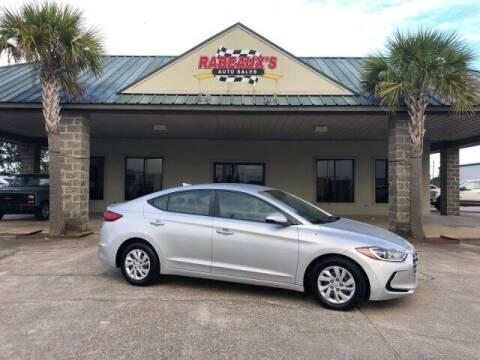 2017 Hyundai Elantra for sale at Rabeaux's Auto Sales in Lafayette LA
