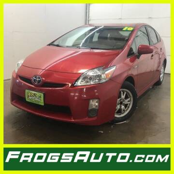2010 Toyota Prius for sale at Frogs Auto Sales in Clinton IA