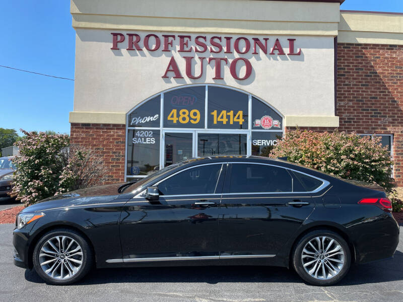2017 Genesis G80 for sale at Professional Auto Sales & Service in Fort Wayne IN