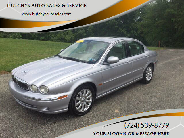 2003 Jaguar X-Type for sale at Hutchys Auto Sales & Service in Loyalhanna PA