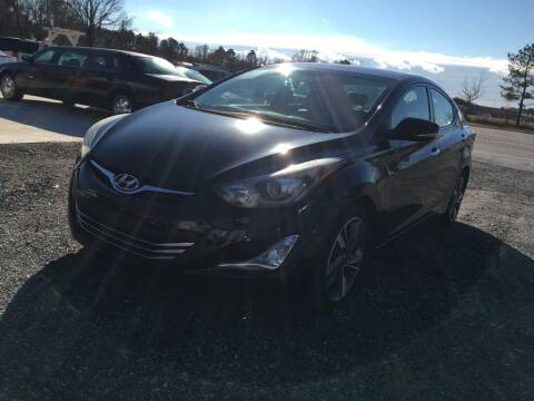2014 Hyundai Elantra for sale at Complete Auto Credit in Moyock NC