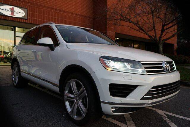 2017 Volkswagen Touareg for sale at Team One Motorcars, LLC in Marietta GA