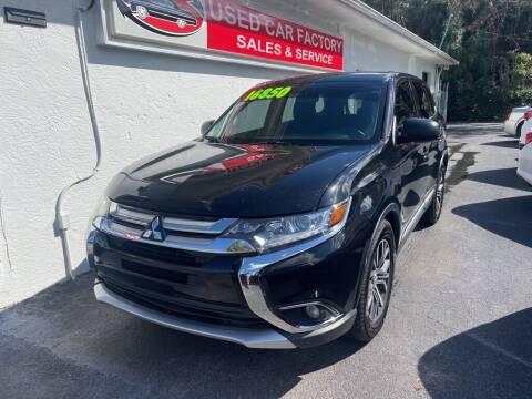 2017 Mitsubishi Outlander for sale at Used Car Factory Sales & Service in Port Charlotte FL