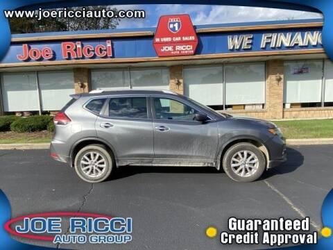 2017 Nissan Rogue for sale at JOE RICCI AUTOMOTIVE in Clinton Township MI