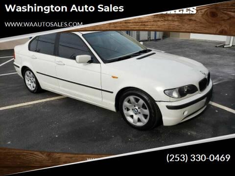 2003 BMW 3 Series for sale at Washington Auto Sales in Tacoma WA