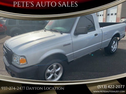 2008 Ford Ranger for sale at PETE'S AUTO SALES - Dayton in Dayton OH