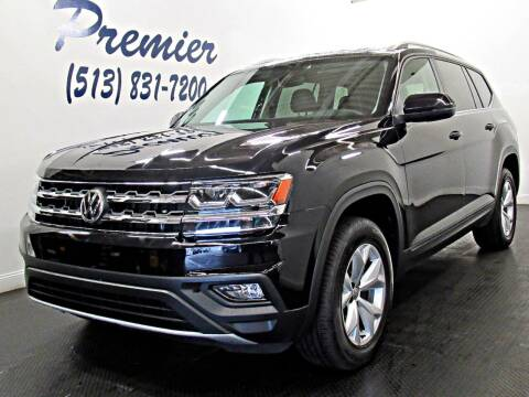 2018 Volkswagen Atlas for sale at Premier Automotive Group in Milford OH
