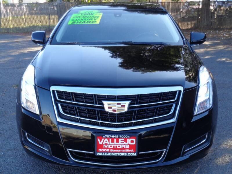 2016 Cadillac XTS Pro for sale at Vallejo Motors in Vallejo CA