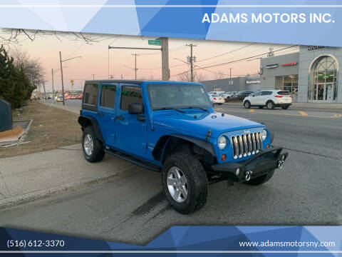 2011 Jeep Wrangler Unlimited for sale at Adams Motors INC. in Inwood NY