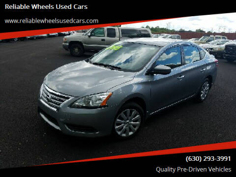 2013 Nissan Sentra for sale at Reliable Wheels Used Cars in West Chicago IL