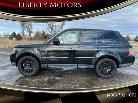 2011 Land Rover Range Rover Sport for sale at Liberty Motors in Billings MT
