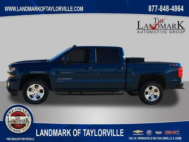 2018 Chevrolet Silverado 1500 for sale at LANDMARK OF TAYLORVILLE in Taylorville IL