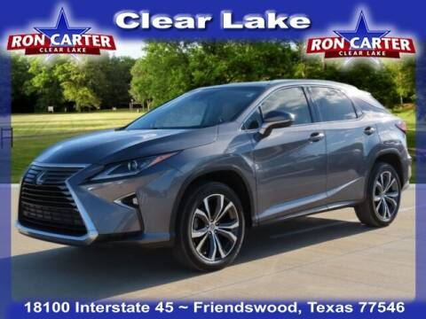 2017 Lexus RX 350 for sale at Ron Carter  Clear Lake Used Cars in Houston TX